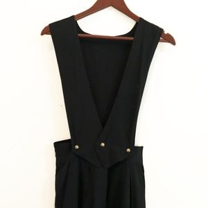 Vintage Jumpsuit - Super High Rise Pleated Overall